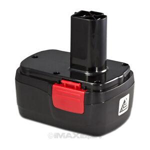 new 14 4v 2 0ah ni cd battery for craftsman diehard 14 4 volt cordles power tool. Black Bedroom Furniture Sets. Home Design Ideas