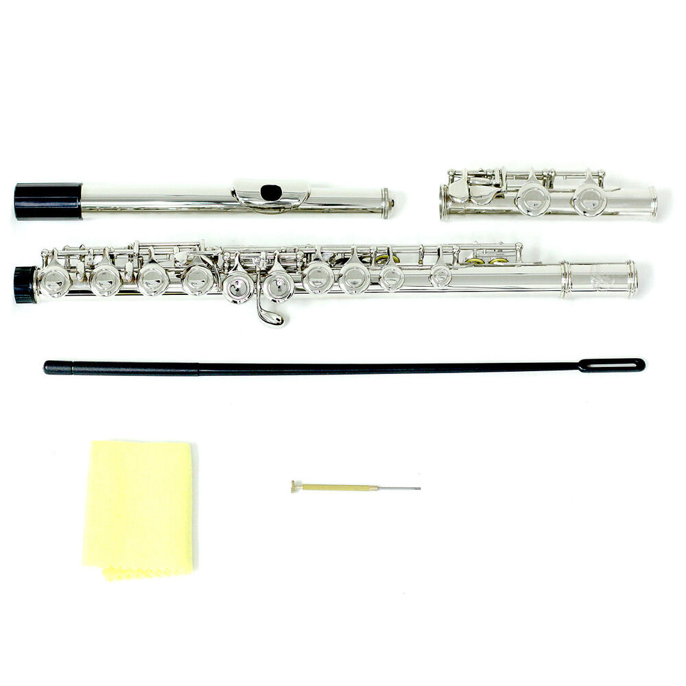 Brand New Nickel Plated C Foot Flute L@@K ! Low Price Guarantee
