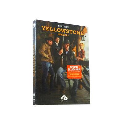 Yellowstone Season 2 (DVD,4-Disc) Free shipping