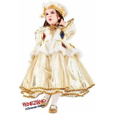 Deluxe Velvet Harlequin Girls Costume Venetian Juliet Princess Fancy Dress Sz 6 (Venetian Princess Halloween)