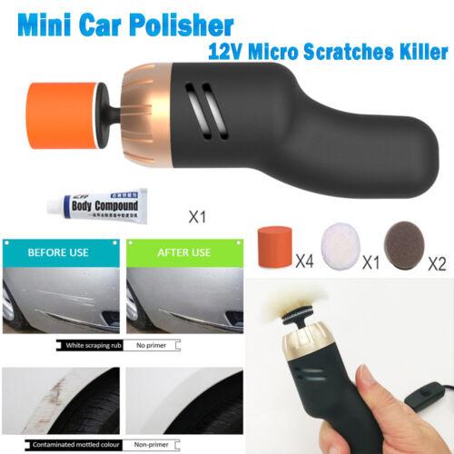 Mini Portable Orbital Sander 12V Micro Scratches Killer Car Polisher Spot Repair