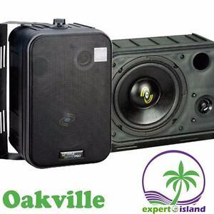 Pyle PDMN58 6.5-Inch 2-Way Bass Monitor Speakers indoor or outdoor