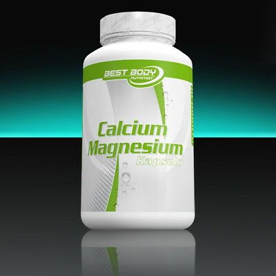 100 Kapseln Calcium ((11,42€/100g) Best Body Nutrition Calcium Magnesium 100 Kapseln Mineralien)