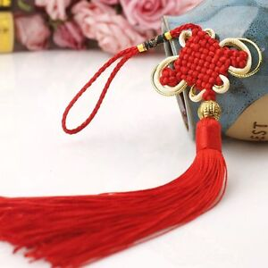Hot Chinese Tassel Lucky Knot New Year Decorations Talisman Good Luck Knots Gift
