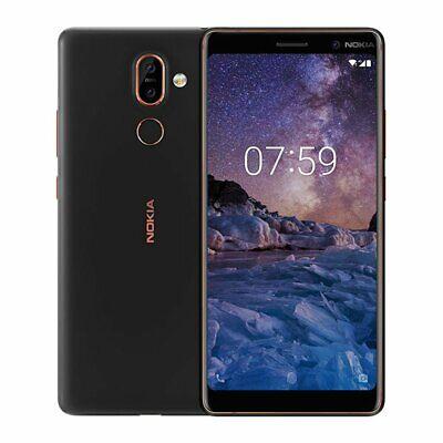 Nokia 7 Plus 64GB Dual Sim - Black / Nero GARANZIA 12 MESI + SPEDIZIONE