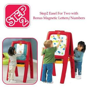 NEW Step2 Easel For Two with Bonus Magnetic Letters/Numbers - 885200 Condtion: New