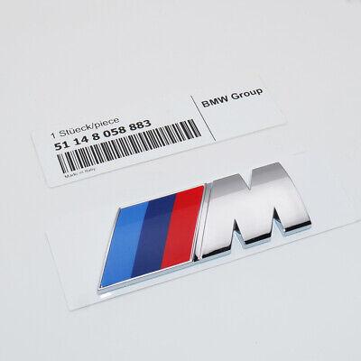 Chrome M Series Emblem Badge Car Rear Trunk Refit Decoration Accessories ABS 883
