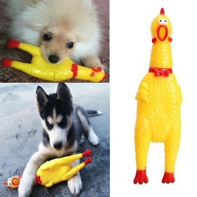 Cute Yellow Pet Squeaky Toy Pet Supplies Screaming Chicken Pet Dog Chew Toy