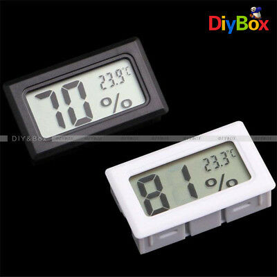 Lcd Thermometer Hygrometer Humidity Temperature Meter Indoor K Type Probe