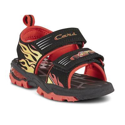 Disney Toddler Boys' Cars Lightning McQueen Sport Sandal Sizes 6,7,8,9,10,11,12
