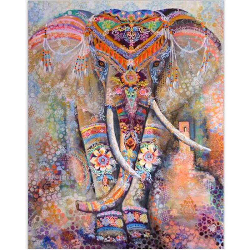 Elephant Pattern Bohemian Shawl Towel Beach Blanket  Mandala Tapestry Yoga Mat