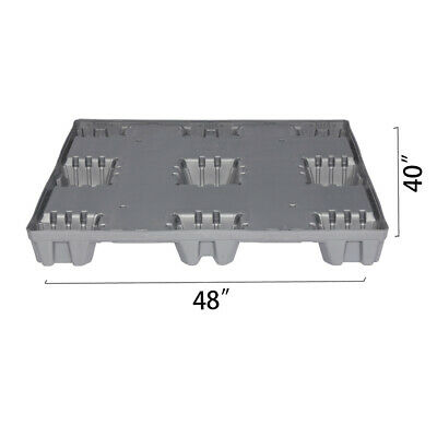 48 X 40 X 5.9 Plastic Pallet Pack Container Base