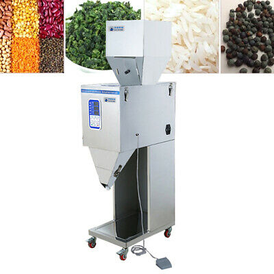 Automatic Powder Filler Machine Digtal Filling Weigh Teaseedgrain 10999g