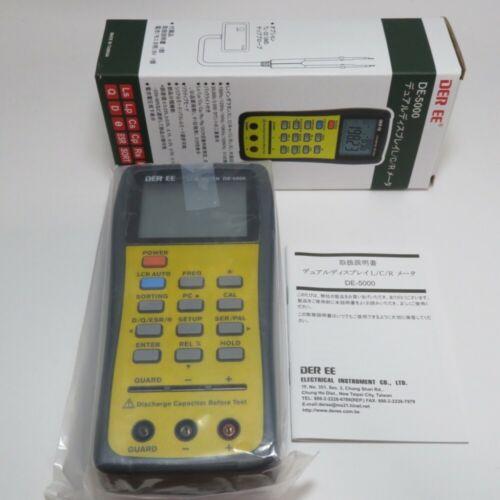 DER EE DE-5000 High Accuracy Handheld LCR Meter New