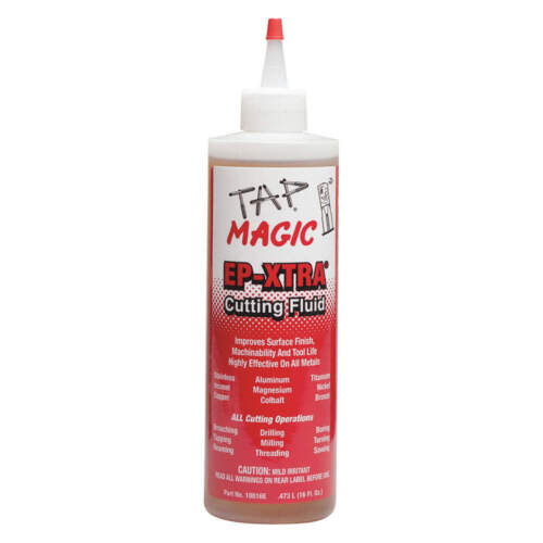 NEW TAP MAGIC 10016E Cutting Oil, 16 oz Squeeze Bottle EP-Xtra
