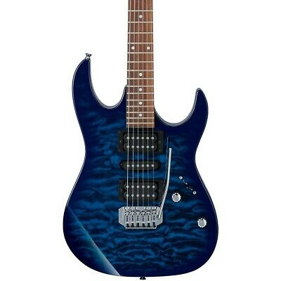 Ibanez GRX70QA Electric Guitar Transparent Blue -