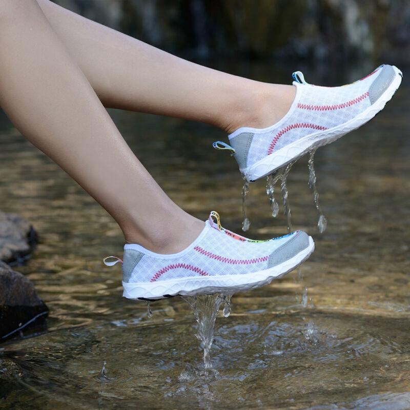 Herren Damen Neoprenschuhe Wasserschuhe Badeschuhe Schwimmschuhe Aquaschuhe