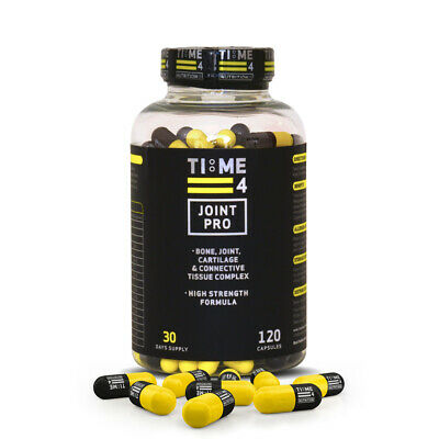 Time 4 Nutrition Joint Pro Glucosamine & Chondroitin High Strength Capsules