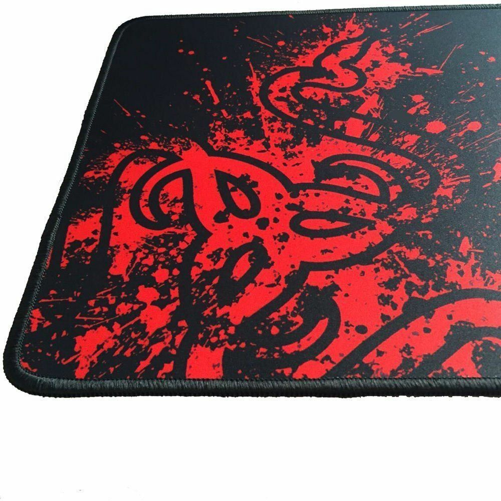 New Large Mouse Pad Extended Gaming XXL 900x300mm Big Size Desk Mat Black & Red