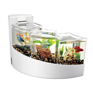Used Aqueon Kit Betta Falls for Aquarium, White Condtion: Used, White