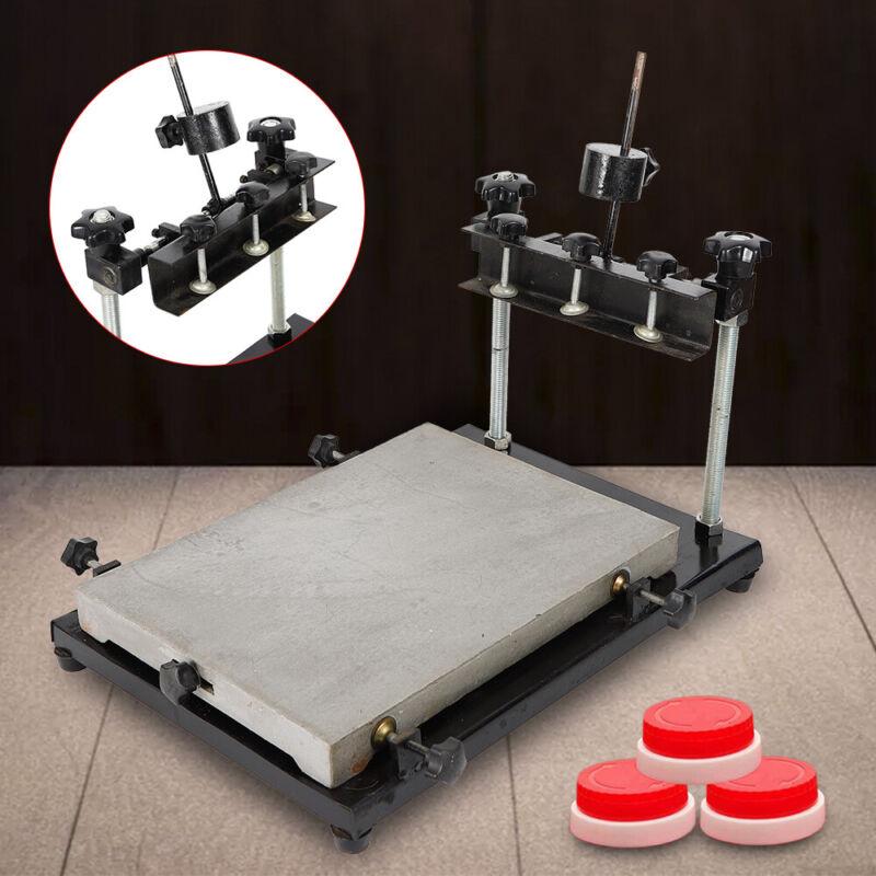 Protable Manual Stencil Printer Machine Sliver, 440X320mm 2019 US SHIP