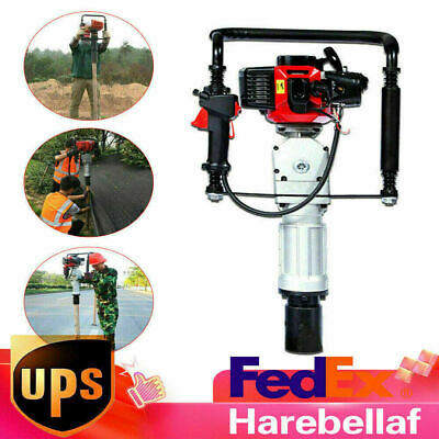 52cc Gas Powered T-post Driver 2-stroke Gasoline Engine Push Pile Driver Tools