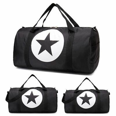 Waterproof Gym Sports Nylon Carry Duffle Shoulder Bag Travel Luggage Handbag USA