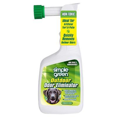 32 oz. Outdoor Odor Eliminator, Pet Odor Remover, Spray for Dog Cat Urine Smell