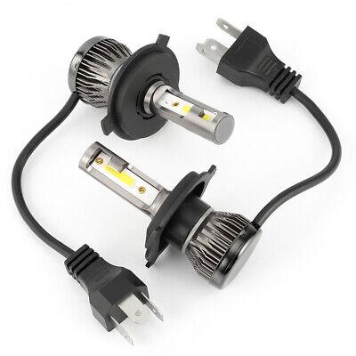White Leds Bulk (2x H4 LED Headlight 9003 Conversion Kit 2200W 310000LM HI-LO Beam Bulbs 6000K)