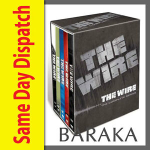 The-Wire-Complete-HBO-Season-Series-1-2-3-4-5-DVD-Box-Set-1-5-boxset-New
