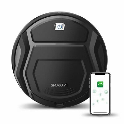 SMARTAI 11 Max Smart Robot Vacuum Cleaner 1500Pa HEPA Filter WiFi App Control