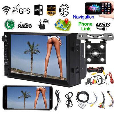 For 2001-2009 Dodge Ram 1500 2500 3500 Car Stereo 2 Din Radio WIFI GPS & Camera