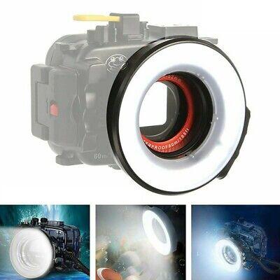 Seafrogs 60m Underwater Macro Ring Flash Strobe Light for Camera Housing Case