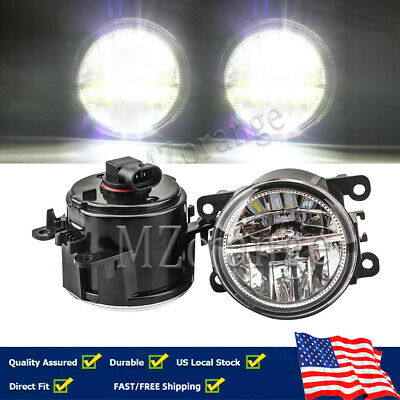 LED Fog Light Lamps 12v 55w Front Bumper Right+Left Side Car Factory Accessories