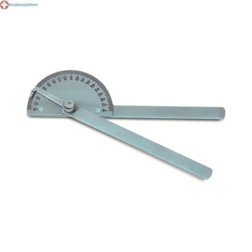 "Baseline 8"" 180 Degree Goniometer, Stainless Steel"