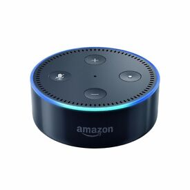Amazon Echo Dot (2nd Generation), Black NEW £40