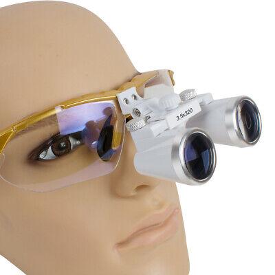 Usps Dental Surgical Medical Binocular Loupes 3.5x 320 Optical Glass For Dentist