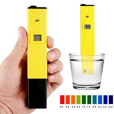 Digital LCD PH Messgerät Wassertester Prüfer für Aquarium Pool Tester 0-14