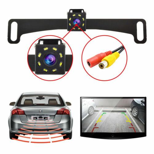 Waterproof Car License Plate CMOS 170 Rearview Reverse Backup Parking HD Camera Car Video
