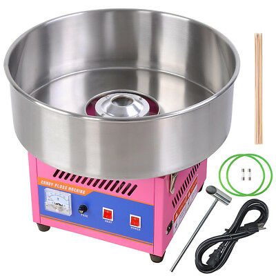 20 Commercial Electric Cotton Candy Machine Floss Maker Party Holiday Pink