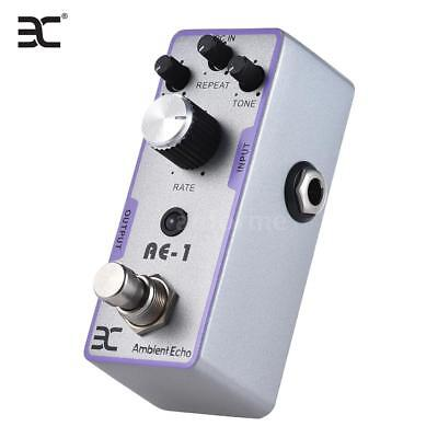 ENO EX AE-1 Electric Guitar Ambient Echo Effect Pedal True Bypass White B7V7