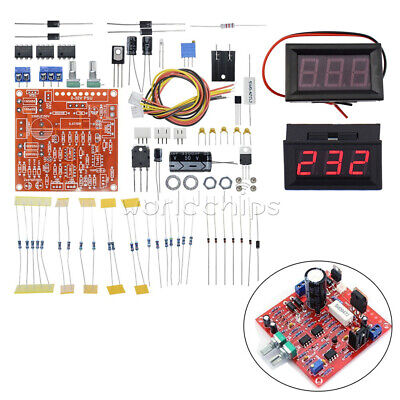 Stabilized Adjustable Dc Regulated Power Supply Diy Kit 0-30v 2ma-3a Voltmeter