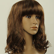 Shoulder Length Dark Brown Wig
