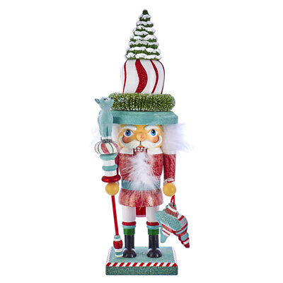 "[Kurt Adler Hollywood Nutcracker - Retro Color Christmas Nutcracker 16.5"" HA0449 </Title]"