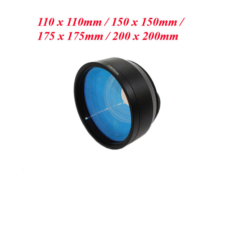 110mm 150mm 175mm 200mm Fiber Laser Machine Scanning Lens Area F Theta Lens M52