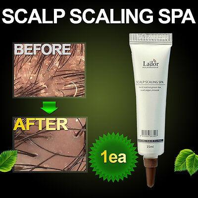 Anti dandruff Hair loss Treatment Deep Cleansing Scalp Scaling Clinic Spa 1ea