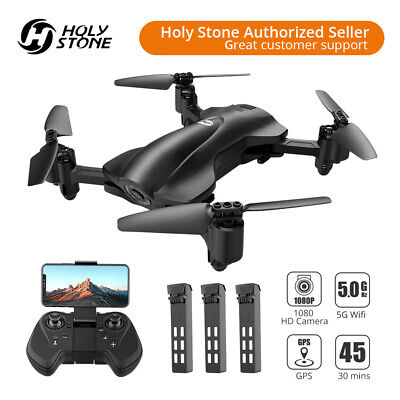 Untainted Stone foldable GPS drone with camera 3 battery 5G wifi FPV quadcopter HS165