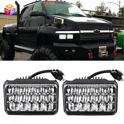 Pair LED Headlights Hi/Low Beam For Chevrolet Kodiak C4500 C5500 vehicles truck for sale  Shipping to Canada