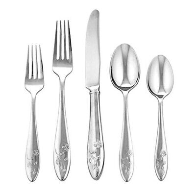 Lenox Butterfly Meadow 5-Piece Stainless Steel Place Setting