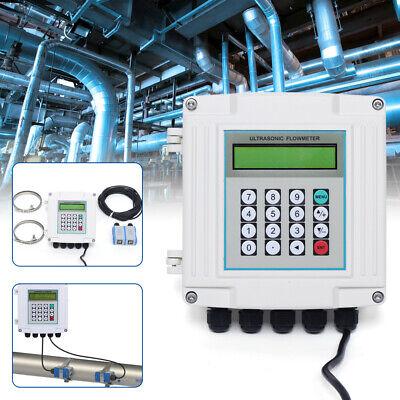 New Ultrasonic Flowmeter Wall-mounted Digital Water Flow Meter Tuf-2000sw Rs485
